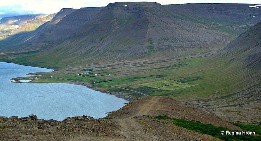 Mt. Sandafell in the Westfjords