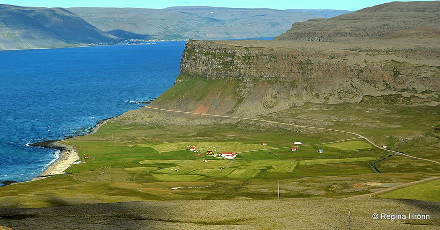 Hænuvík in the Westfjords of Iceland