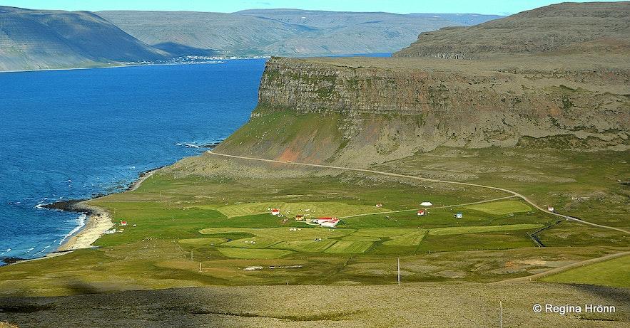 Hænuvík in the Westfjords of Iceland