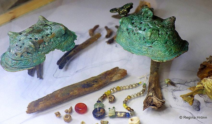 Bláklædda konan archaeological remains in Iceland