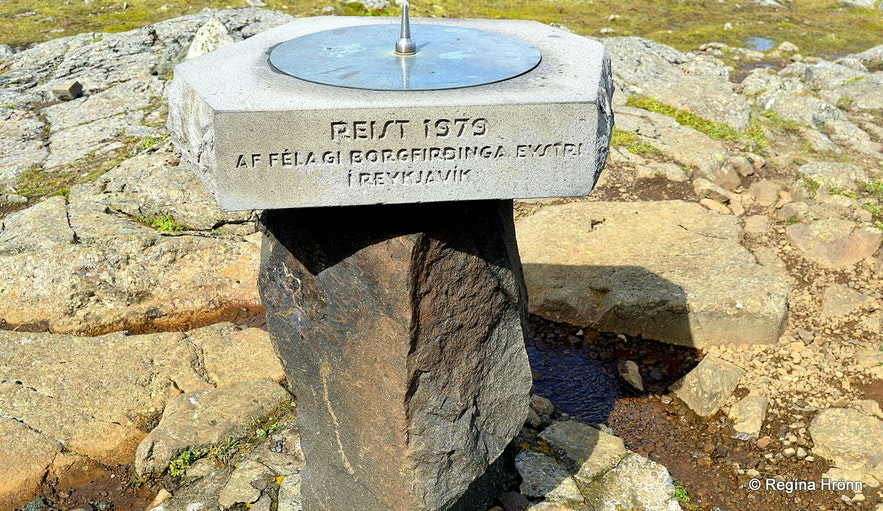 The view-dial on top of Álfaborg