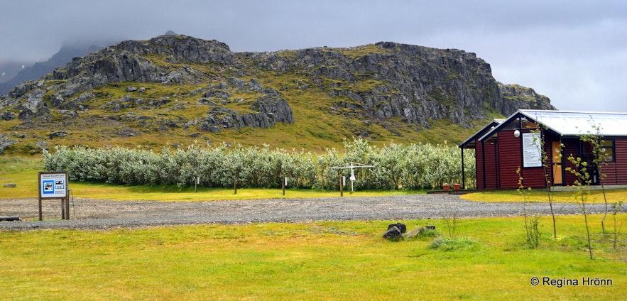 Álfaborg rock Borgarfjörður-Eystri East-Iceland