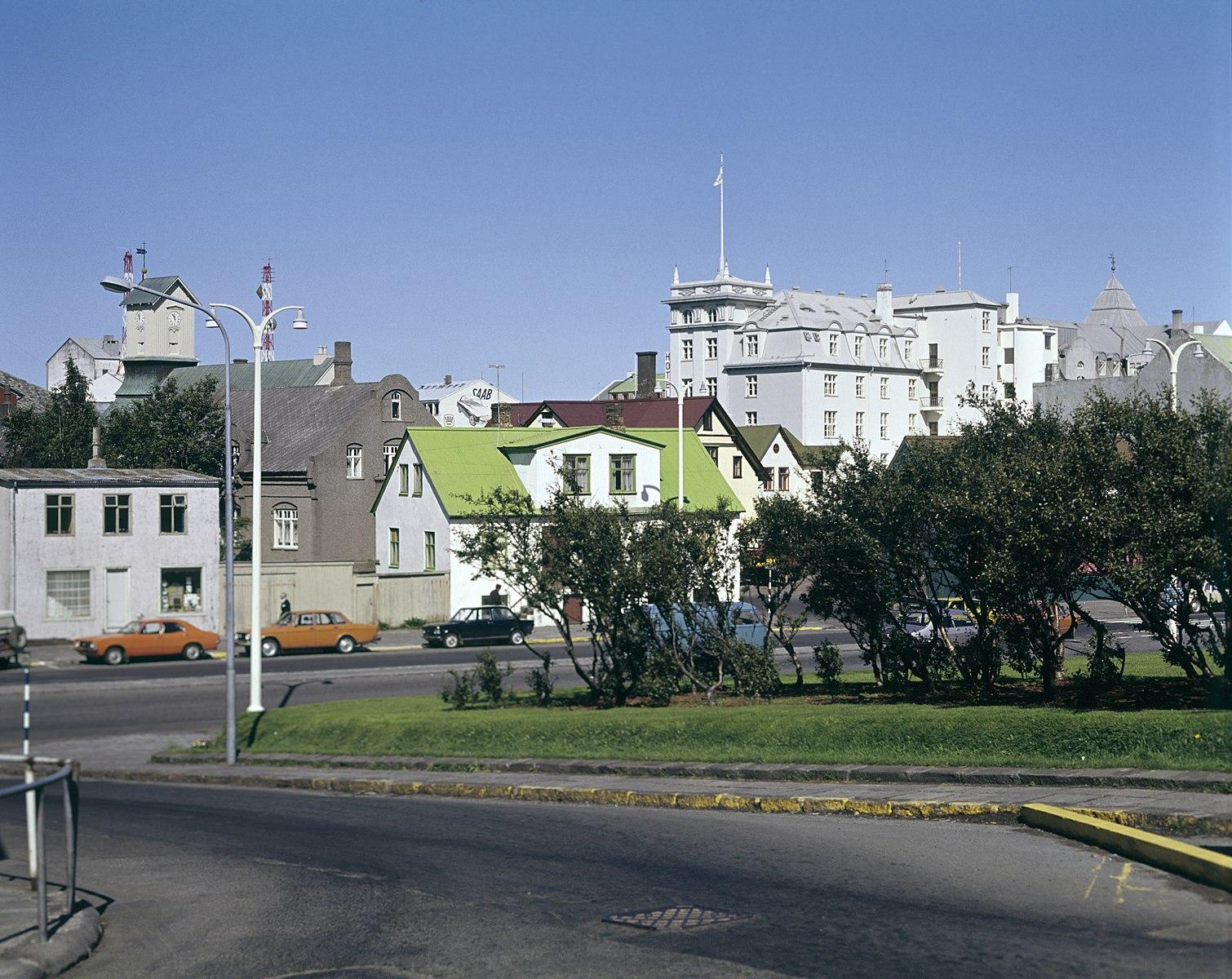 Laekjargata is one of the oldest streets in Reykjavik!