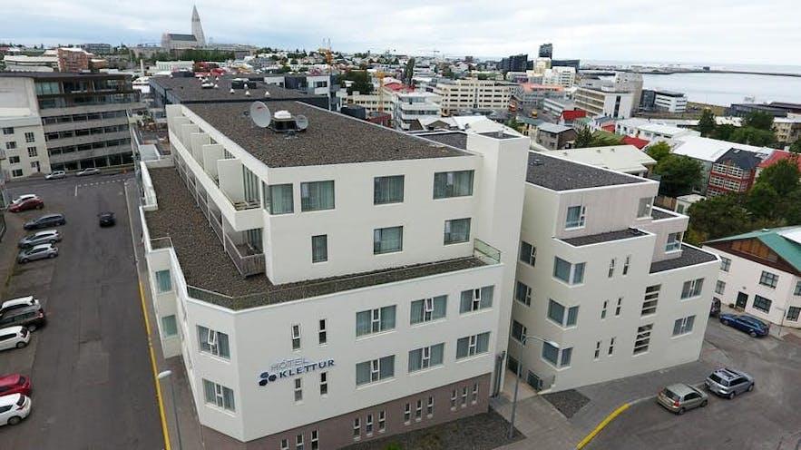 雷克雅未克凯乐特酒店(Hótel Klettur)是许多游客的首选酒店