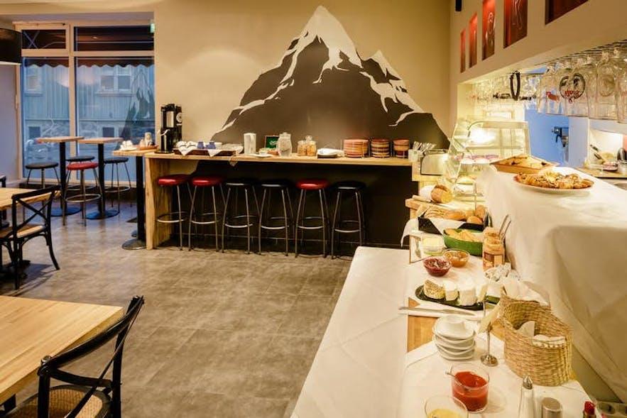 """雷克雅未克City Center Hotel自称为""""迄今为止冰岛最好的三星级酒店"""""""