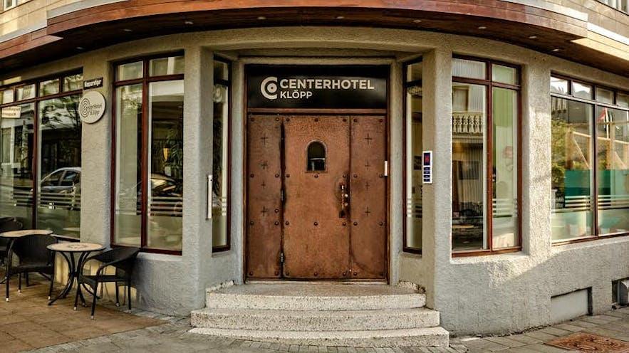 极具个性的雷克雅未克克洛普中央酒店(CenterHotel Klopp)