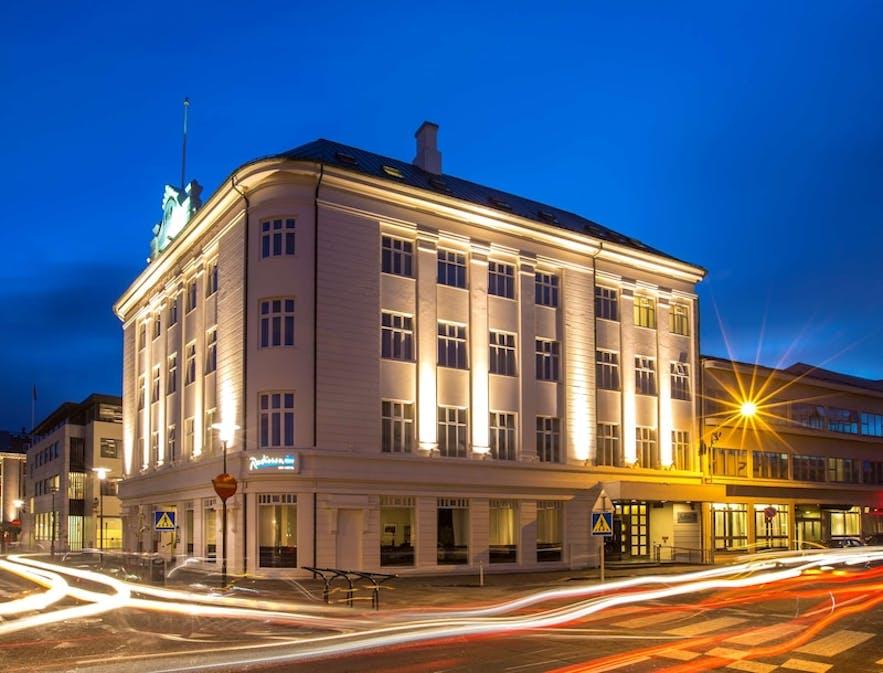 雷克雅未克1919丽笙布鲁酒店(Radisson Blu 1919 Hotel)房间干净整洁