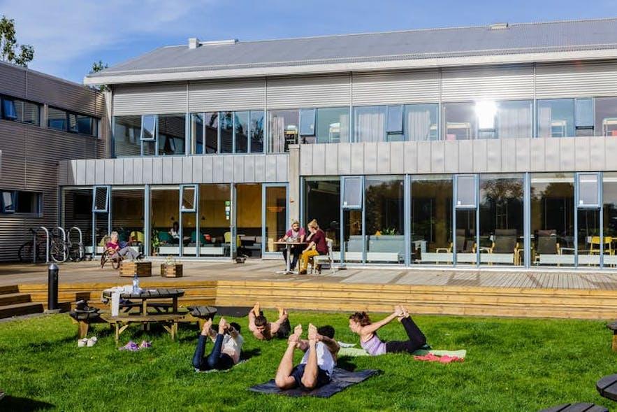 雷克雅未克市HI旅舍(HI Reykjavik City Hostel)是参加冰岛秘密夏至音乐节的最佳住宿选择