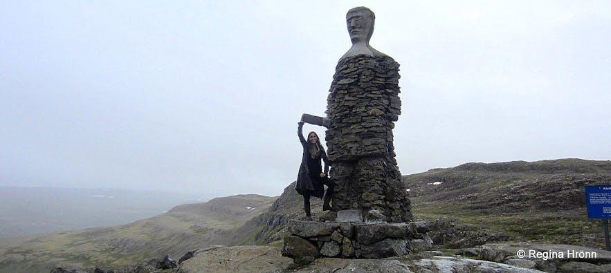 Kleifabúi on Kleifaheiði heath