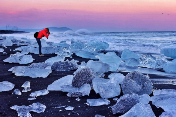 Guided 10 Hour Sightseeing Tour of the South Coast's Highlights & Jokulsarlon Glacier Lagoon