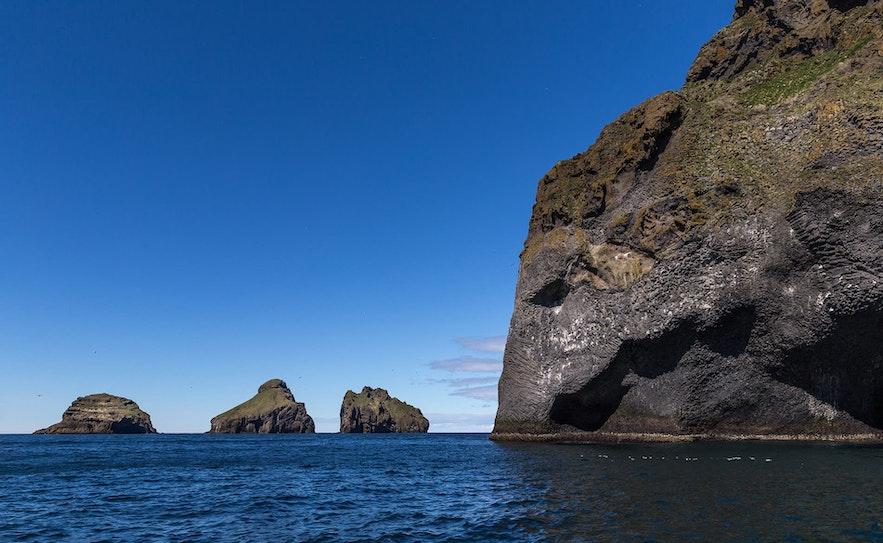 The Westman Islands boast many strange formations.