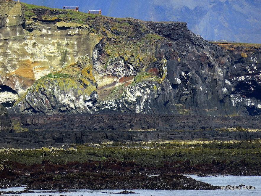 Þúfubjarg as seen from Lóndrangar Snæfellsnes