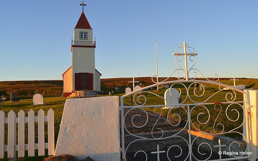 Grímseyjarkirkja church on Grímsey island N-Iceland