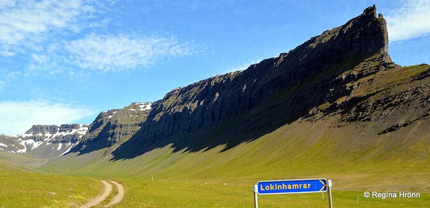 Mt. Skeggi by Lokinhamrar in the Westfjords