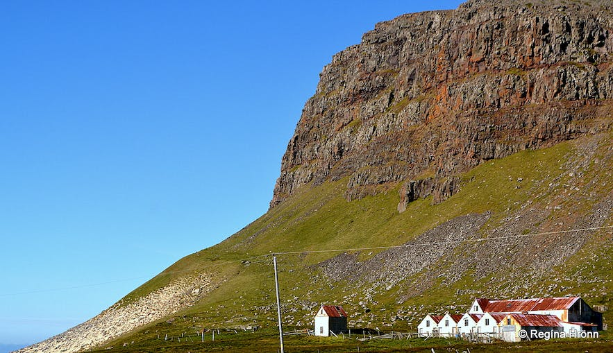 Kollsvík in the Westfjords of Iceland