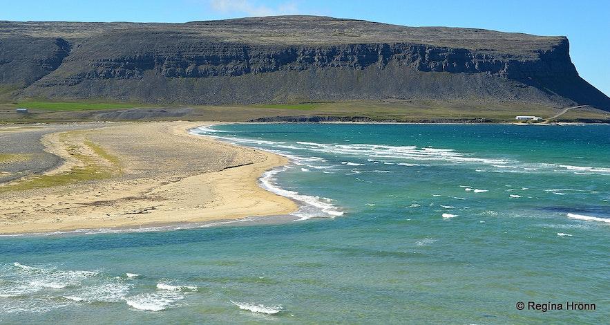 Örlygshöfn in the Westfjords of Iceland