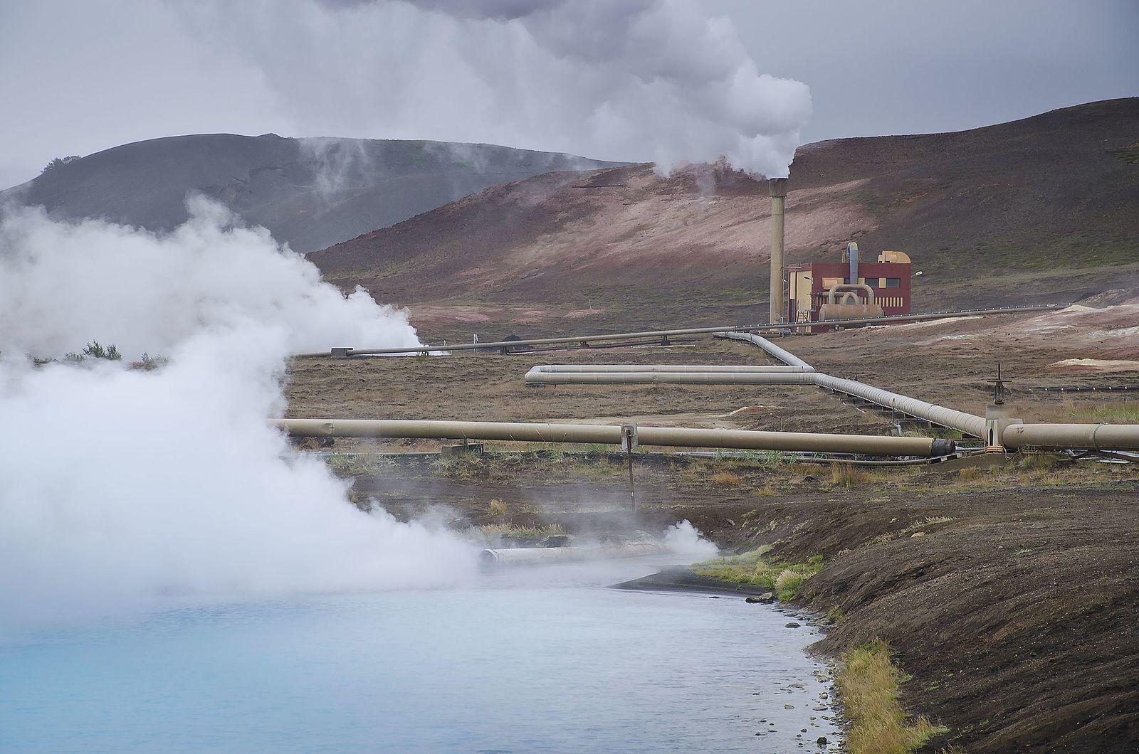 Bjarnaflag is Iceland's oldest geothermal plant.