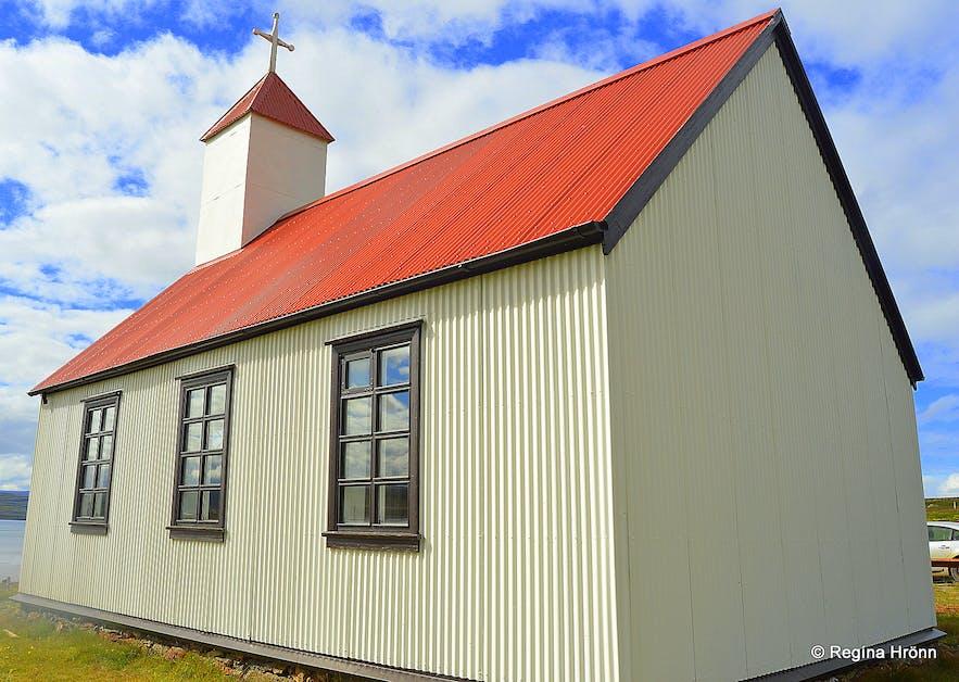 Nauteyrarkirkja church Westfjords