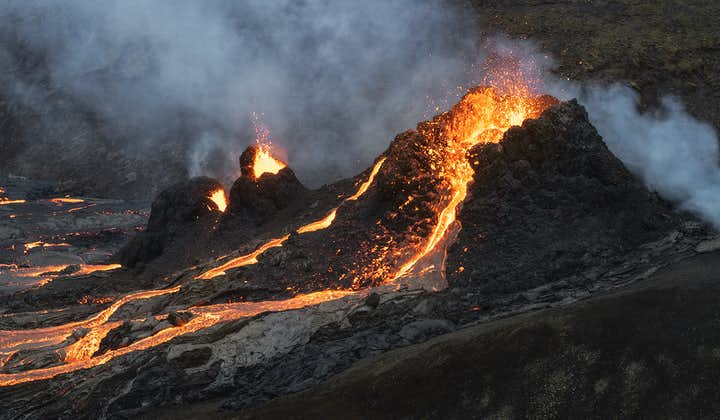 近距离感受火山魅力丨法格拉达尔火山(Fagradalsfjall)5小时旅行团
