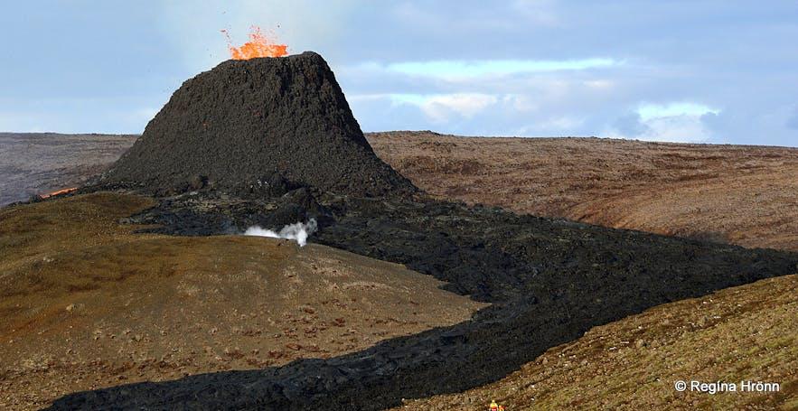 Geldingadalir volcanic eruption on the Reykjanesskagi peninsula