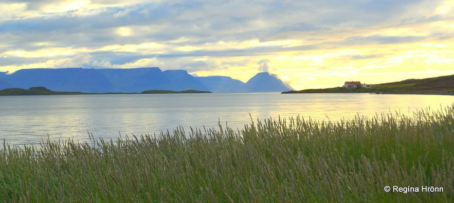 The view from Unaðsdalur, Westfjords