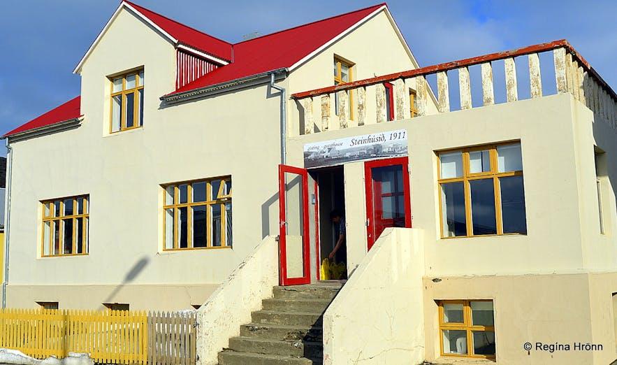 Steinhúsið hotel in Hólmavík Westfjords
