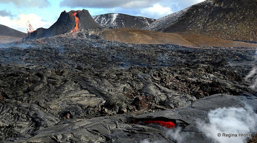 Geldingadalir vocanic eruption in SW-Iceland