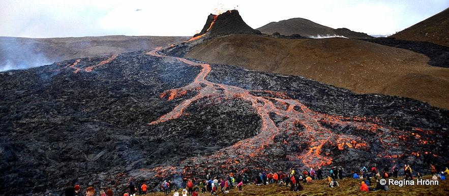 Geldingadalir volcanic eruption in SW-Iceland