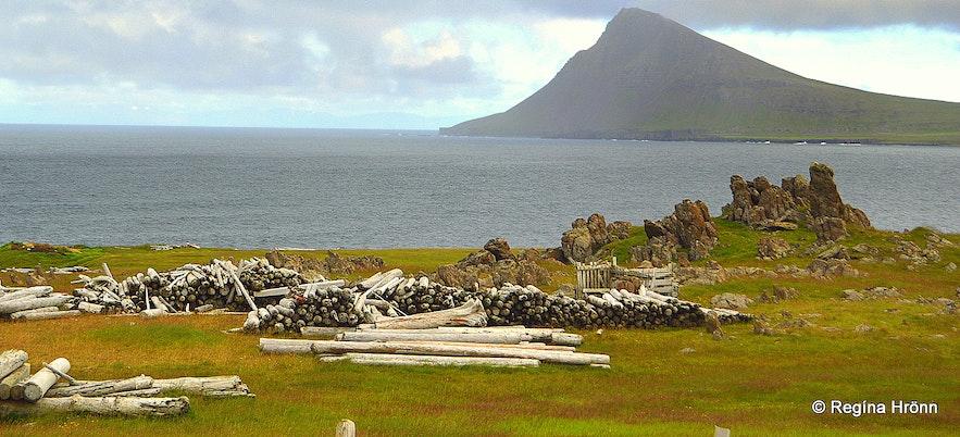 Mt. Reykjaneshyrna in the Strandir area Westfjords