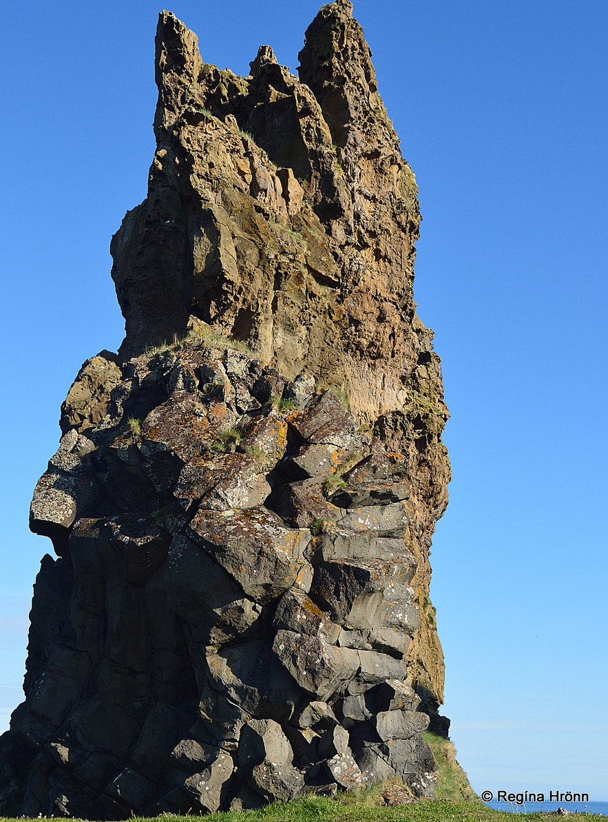 Lóndrangur cliff on the Snæfellsnes peninsula