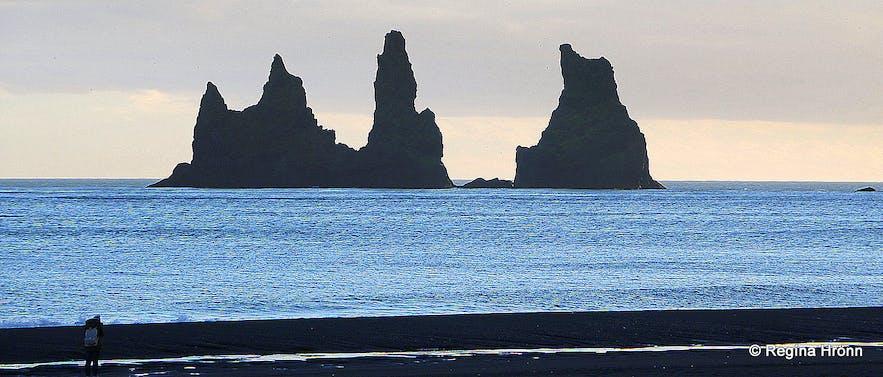 Reynisdrangar in Vík South-Iceland
