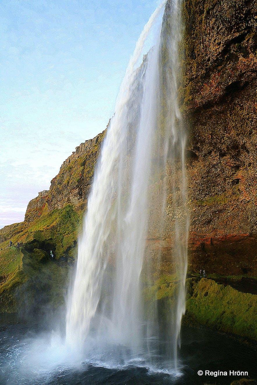 Seljalandsfoss waterfall South-Iceland
