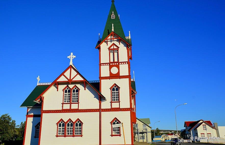 Húsavíkurkirkja church Húsavík