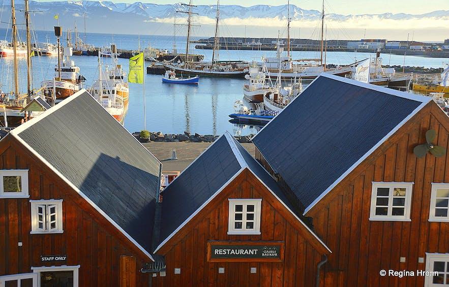 Húsavík harbour
