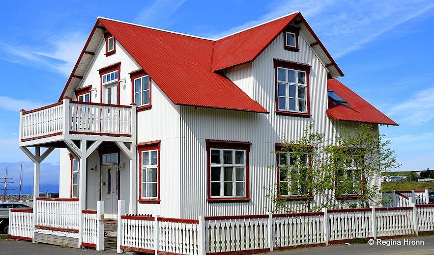 Houses in Húsavík North-Iceland