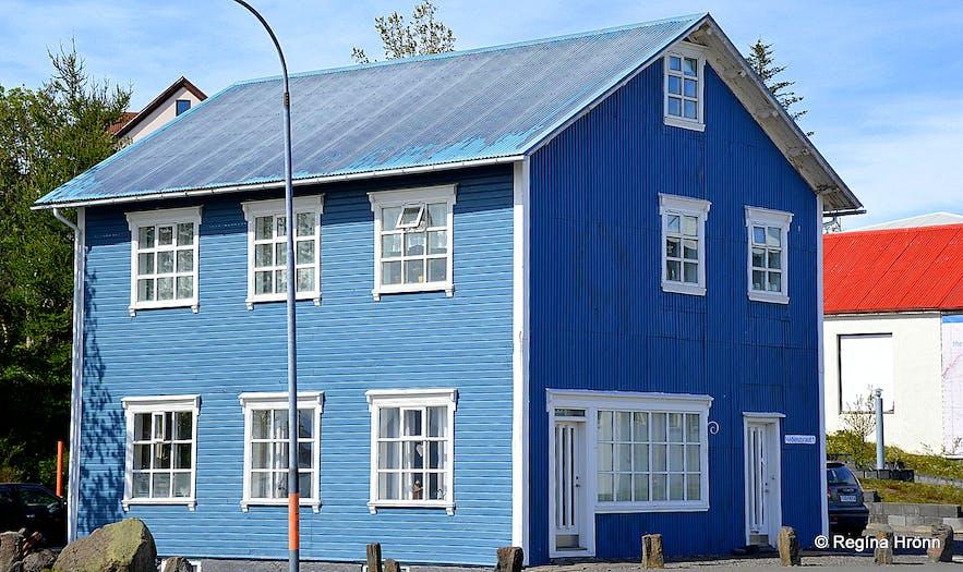 A house in Húsavík, North Iceland
