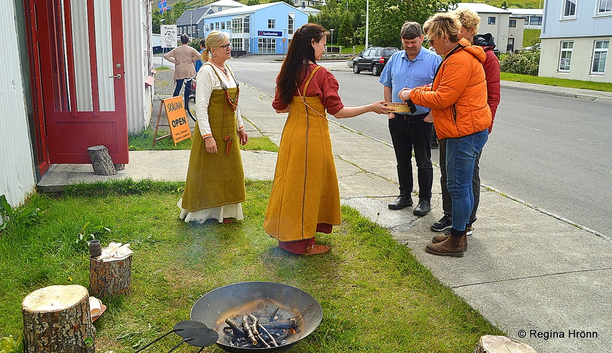 By Skálinn Viking theme Þingeyri Westfjorfds