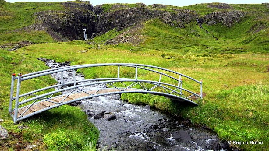 Bridge on the way to Rauðamelsölkelda