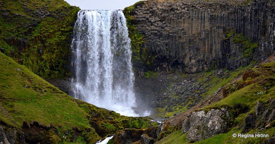 Svöðufoss waterfall Snæfellsnes peninsula