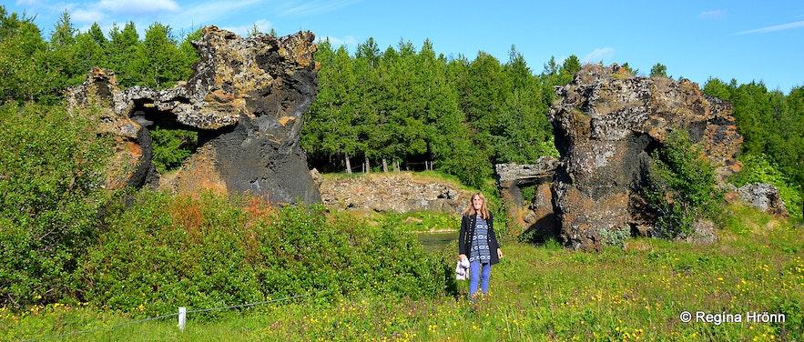 Regína by Klasar at Kálfastrandavogar Mývatn