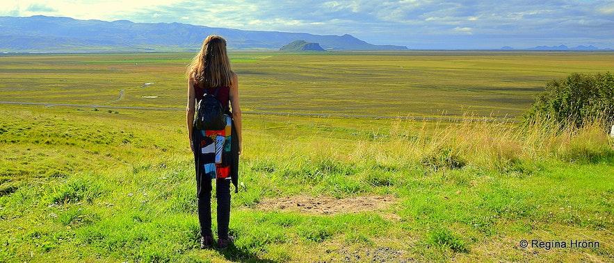 Regína at Hlíðarendi South-Iceland