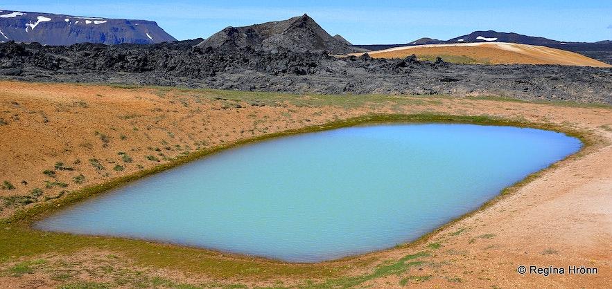 Leirhnjúkur geothermal area