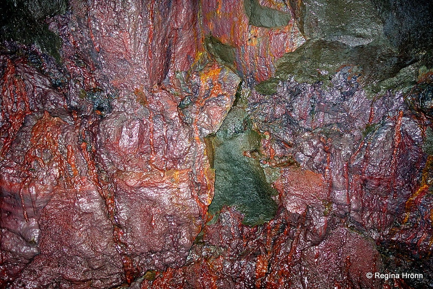 Víðgelmir lava cave West-Iceland