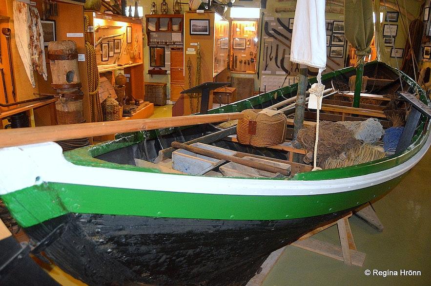 Hnjótur Museum by Örlygshöfn Westfjords