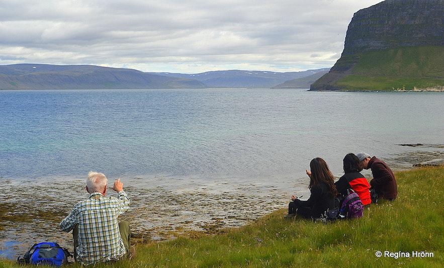 Örlygshöfn in the Westfjords