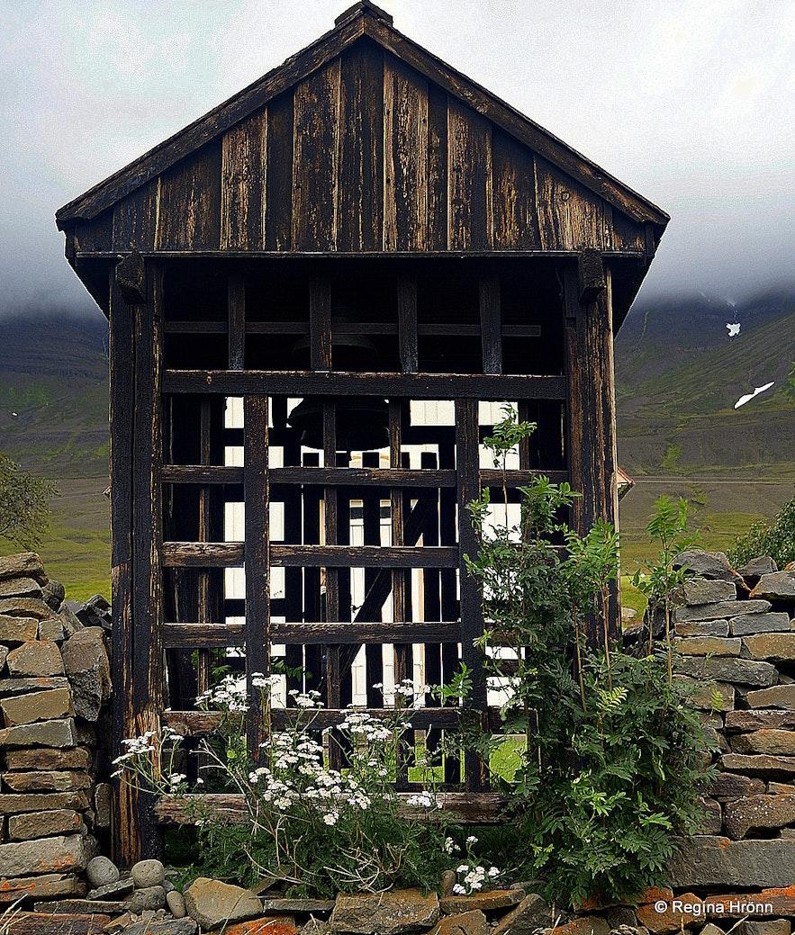 Möðruvallakirkja church belfry Eyjafjörður