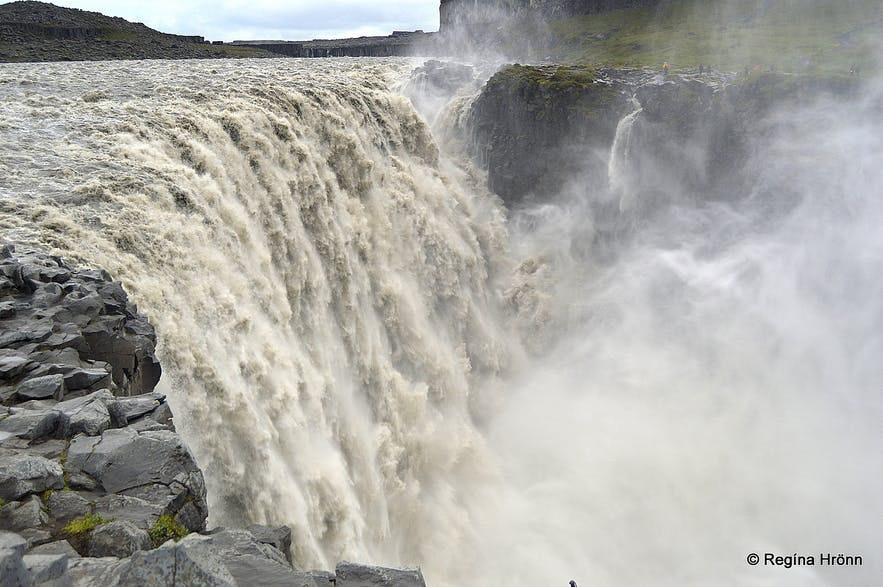 Dettifoss from the east-bank