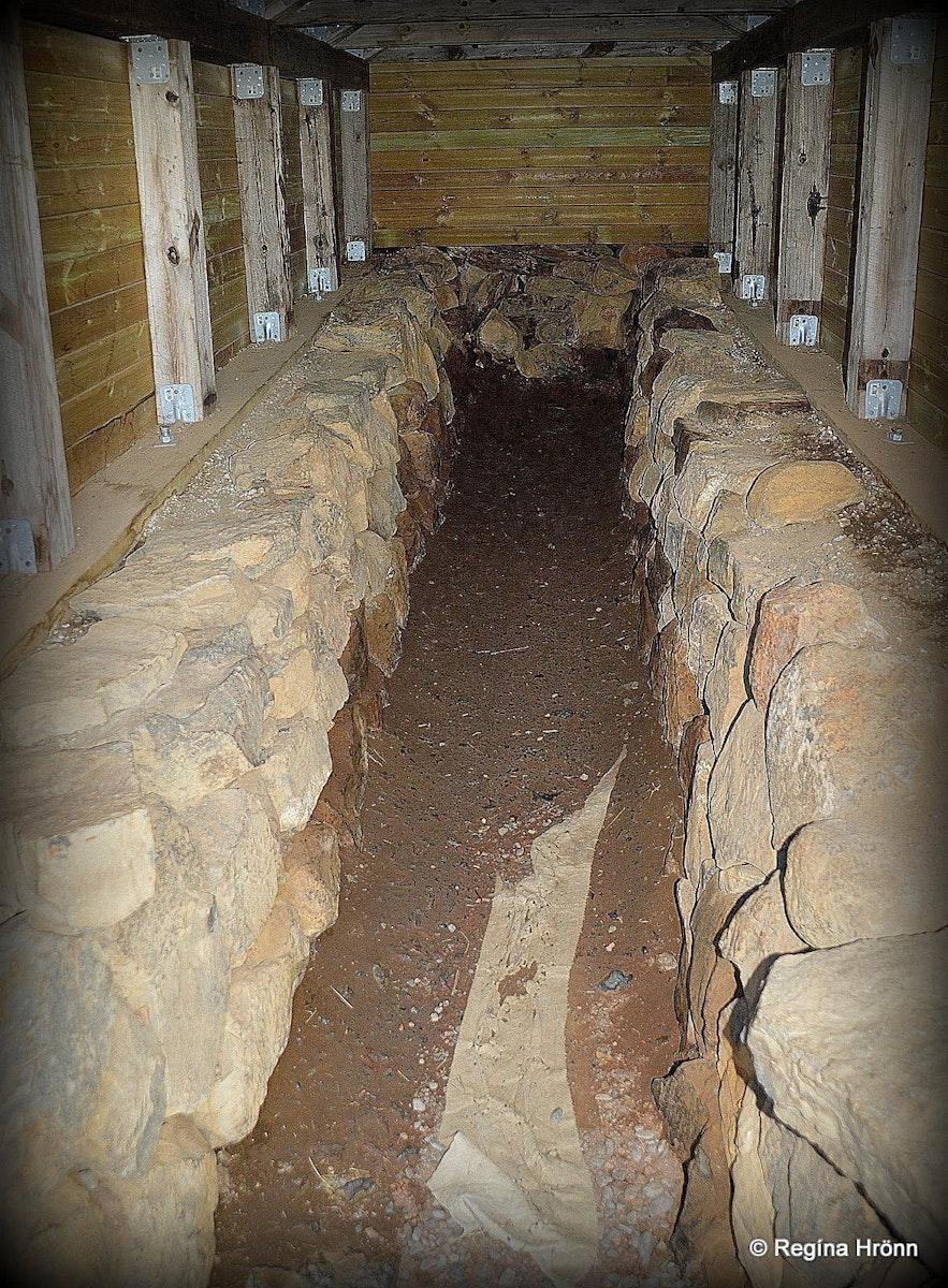 The underground passage at Reykholt