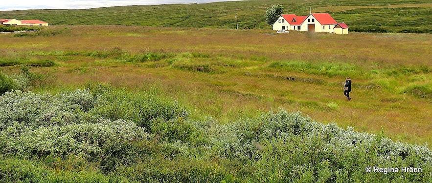 Regína at Hofstaðir in Mývatn N-Iceland