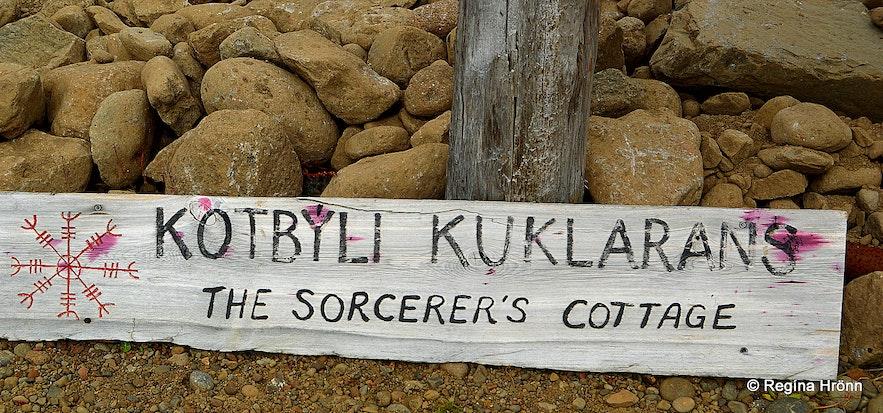 Sorcerer's Cottage in Bjarnarfjörður in the Westfjords of Iceland - Kotbýli kuklarans